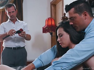 Killing hot wife Casey Calvert gets laid in front of her cuckold husband