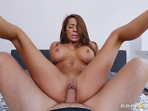 Masked burglar and a horny housewife have crazy sex
